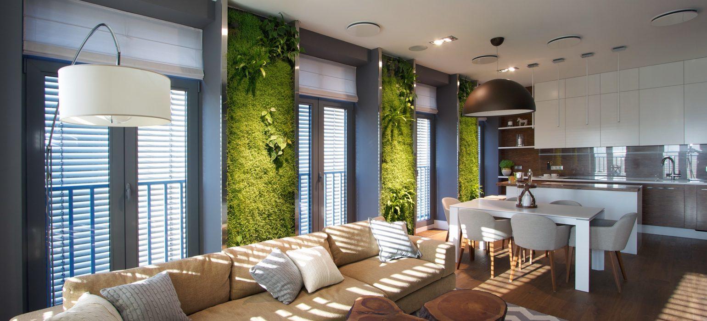 Bringing green indoors is trending.