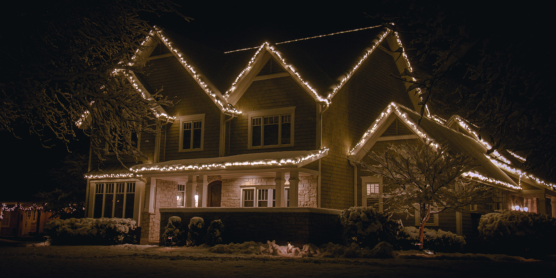 Holiday Lighting Service Crystal Lake Il Elite Lawn Care